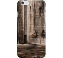 Weathered Wooden Abstracts - 2 iPhone Case/Skin