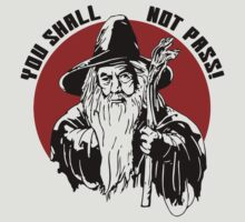 You shall not pass! logo by Buby87