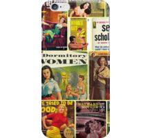 Pulp Novel Bad Girls Collage iPhone Case/Skin