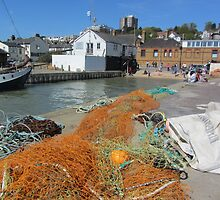 OLD LEIGH FISHING VILLAGE by gothgirl