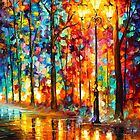 COLORS AT NIGHT by Leonid  Afremov