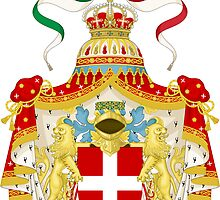 Coat of Arms of Kingdom of Italy  by abbeyz71
