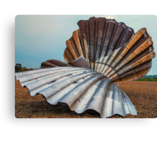 The Scallop, Aldeburgh from the other side Canvas Print