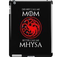Mhysa iPad Case/Skin
