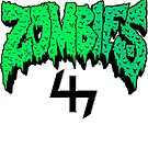 Flatbush ZOMBiES Logo x 47 / GREEN by Ben McCarthy