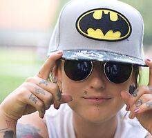 TNS Batman Cap by NerdyStripper