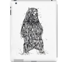 Bearing the Weight of Being a Bear iPad Case/Skin