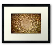 ORNAMENT ABSTRACT Framed Print