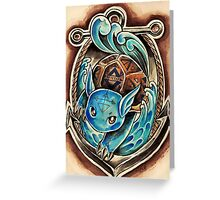 Wartortle  Greeting Card