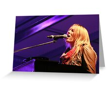 Grace Potter and the Nocturnals - Deni Blues & Roots 2014 Greeting Card