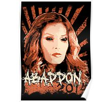 Abaddon 2014 - Queen of Hell Poster