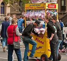 Flat Candy Floss Cart by DavidsArt