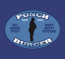 "Ponch Burger - Pawnee Indiana's ""Unhealthiest"" Fast Food Restaurant  by shirtcaddy"