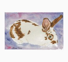 Daily Doodle 24- Rescue - American Rabbit, Robin by ArtbyMinda