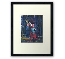 Flamenco Framed Print