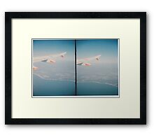 Stereo Flight Framed Print