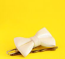 Yellow - Hair Clips by KM-Photography