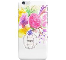 Flower Bomb iPhone Case/Skin