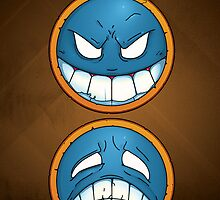 OnePiece - Ace's smileys phone case by ZivHM