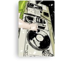 DJ! Canvas Print