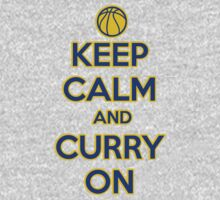 Keep Calm and Stephen Curry On Shirt by 785Tees