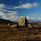 Isle of Rum - boulder by lukasdf