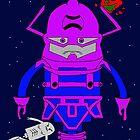 Galactus Silver Surfer Pogo by Pogoshots