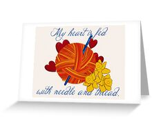 Hooker Greeting Card