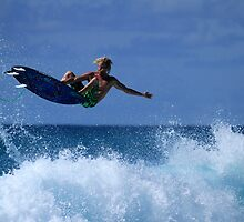 Air Time At Duranbah by Noel Elliot