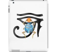 The Scarab Eye iPad Case/Skin