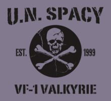 U.N. Spacy VF-1 Valkyrie by BankaiChu