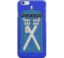 Scottish TARDIS. iPhone Case/Skin