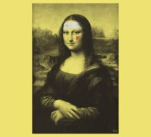 Restored Mona Lisa b by filippobassano
