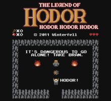 The Legend of Hodor by Olipop