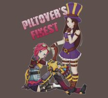 Piltover's Finest - Vi and Caitlyn League of Legends by linkitty