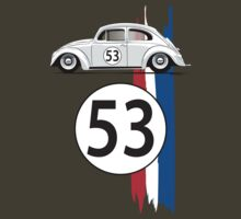 VW Beetle Herbie by velocitygallery