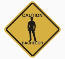 Caution Bachelor by roadart