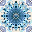 Frozen Mandala Flower by micklyn