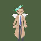 Castiel flower crown by onelasttrick