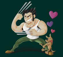 Wolverine in love by trheewood