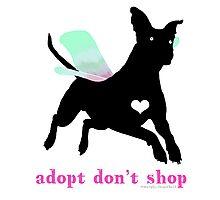 Adopt Don't Shop! Photographic Print