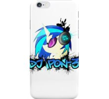 DJ Pon-3 Spray iPhone Case/Skin