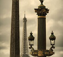 Place de la Concorde - Paris by Michael Carter