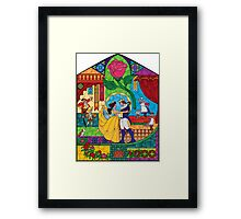 Tale as Old as Time Framed Print
