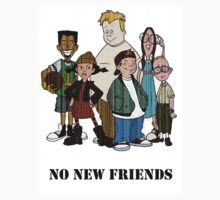 No new friends! by Darius Ferguson