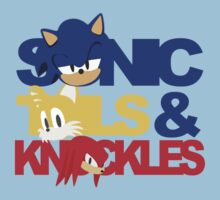 Sonic, Tails & Knuckles by sonicfan114