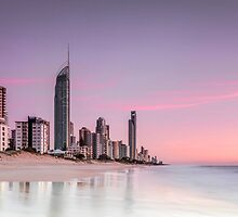 Sunrise in Paradise - Gold Coast Qld Australia by Beth  Wode