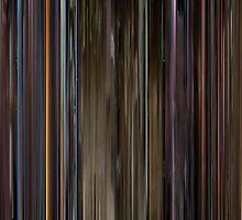 Moviebarcode: Kill Bill: Vol. 1 (2003) by moviebarcode