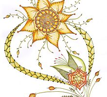 Flower triumph by Emy van Schaik