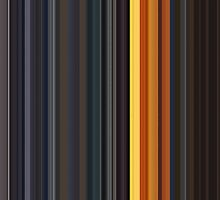 Moviebarcode: Sequence from Kill Bill: Vol. 1 - Chapter 3: The Origin of O-Ren (2003) [Simplified Colors] by moviebarcode